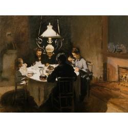 Ужин - Модульная картины, Репродукции, Декоративные панно, Декор стен