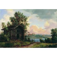 Картина Ивана Шишкина - Пейзаж