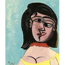 Картина на холсте по фото Модульные картины Печать портретов на холсте Голова женщины (Дора Маар)