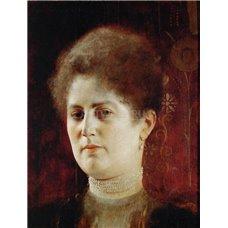 Картина на холсте по фото Модульные картины Печать портретов на холсте Портрет фрау Хейманн