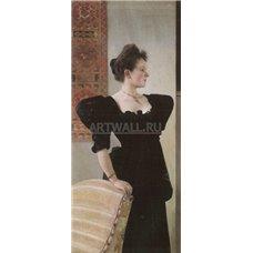 Картина на холсте по фото Модульные картины Печать портретов на холсте Портрет Мари Бреуниг