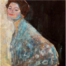 Картина на холсте по фото Модульные картины Печать портретов на холсте Портрет дамы