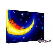 Картина на холсте по фото Модульные картины Печать портретов на холсте Сладкие сны