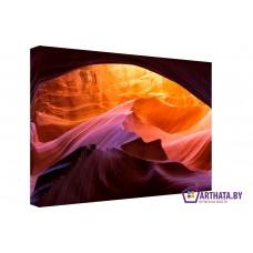 Картина на холсте по фото Модульные картины Печать портретов на холсте Пещера в песках