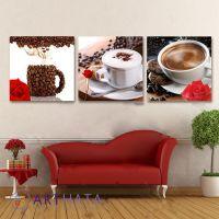 Портреты картины репродукции на заказ - Утренний кофе