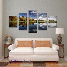 Картина на холсте по фото Модульные картины Печать портретов на холсте Пейзаж