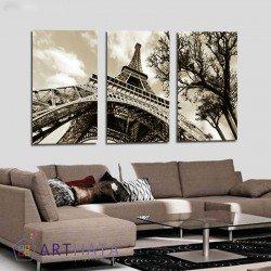 Эйфелева башня - Модульная картины, Репродукции, Декоративные панно, Декор стен