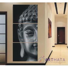 Картина на холсте по фото Модульные картины Печать портретов на холсте Голова Будды