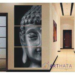 Фото на холсте Печать картин Репродукции и портреты - Голова Будды