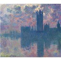 Парламент, закат