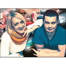 Картина на холсте по фото Модульные картины Печать портретов на холсте Энди Уорхол