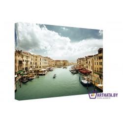 Каналы Венеции - Модульная картины, Репродукции, Декоративные панно, Декор стен