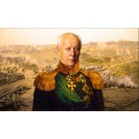 Портреты картины репродукции на заказ - В образе генерала