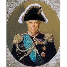 Картина на холсте по фото Модульные картины Печать портретов на холсте В образе капитана