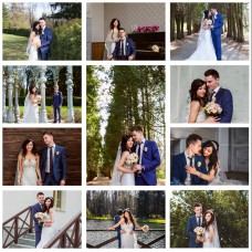 Картина на холсте по фото Модульные картины Печать портретов на холсте Свадебный коллаж
