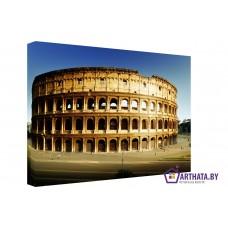 Картина на холсте по фото Модульные картины Печать портретов на холсте Колизей