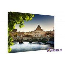Краски Рима - Модульная картины, Репродукции, Декоративные панно, Декор стен