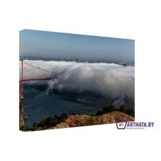 Картина на холсте по фото Модульные картины Печать портретов на холсте В тумане