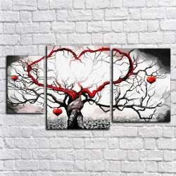 Модульная картина - Ветви