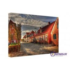 Картина на холсте по фото Модульные картины Печать портретов на холсте Осенние цвета