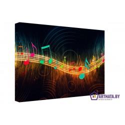 Звуки му… - Модульная картины, Репродукции, Декоративные панно, Декор стен