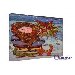 Масленица - Модульная картины, Репродукции, Декоративные панно, Декор стен