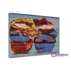 Картина на холсте по фото Модульные картины Печать портретов на холсте Вифлеемская звезда