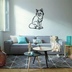 Лисица - Модульная картины, Репродукции, Декоративные панно, Декор стен