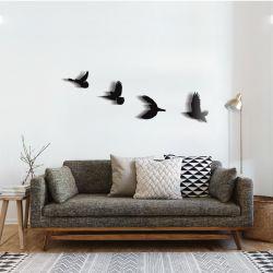 """Панно """"Летящие птицы"""" - Модульная картины, Репродукции, Декоративные панно, Декор стен"""
