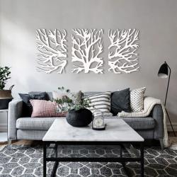 """Панно """"Ветви дерева"""" - Модульная картины, Репродукции, Декоративные панно, Декор стен"""