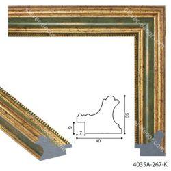 194018 Багет пластиковый 4035A-267-K - Модульная картины, Репродукции, Декоративные панно, Декор стен