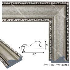 Картина на холсте по фото Модульные картины Печать портретов на холсте 198002 Багет пластиковый 8731-26