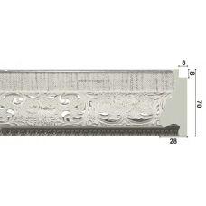 Картина на холсте по фото Модульные картины Печать портретов на холсте 137005 Багет пластиковый BR 1232-W