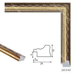 192014 Багет пластиковый 2415-03 - Модульная картины, Репродукции, Декоративные панно, Декор стен