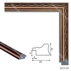 192013 Багет пластиковый 2415-42 - Модульная картины, Репродукции, Декоративные панно, Декор стен
