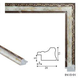 192064 Багет пластиковый 2415-01 - Модульная картины, Репродукции, Декоративные панно, Декор стен