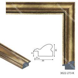 193081 Багет пластиковый 3022-273-K - Модульная картины, Репродукции, Декоративные панно, Декор стен
