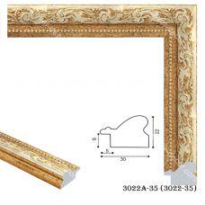 Картина на холсте по фото Модульные картины Печать портретов на холсте 193004 Багет пластиковый 3022A-35
