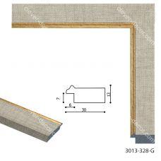 Картина на холсте по фото Модульные картины Печать портретов на холсте 193027 Багет пластиковый 3013-328-G