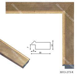 193068 Багет пластиковый 3013-273-K - Модульная картины, Репродукции, Декоративные панно, Декор стен