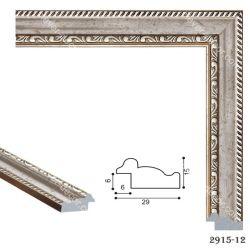 192037 Багет пластиковый 2915-12 - Модульная картины, Репродукции, Декоративные панно, Декор стен