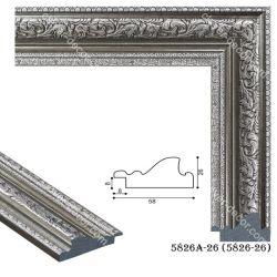 195036 Багет пластиковый 5826A-26-NEW - Модульная картины, Репродукции, Декоративные панно, Декор стен