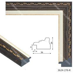 193077 Багет пластиковый 3624-276-K - Модульная картины, Репродукции, Декоративные панно, Декор стен