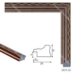 192012 Багет пластиковый 2415-16 - Модульная картины, Репродукции, Декоративные панно, Декор стен
