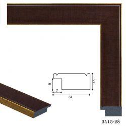 193037 Багет пластиковый 3415-28 - Модульная картины, Репродукции, Декоративные панно, Декор стен