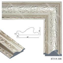 198011 Багет пластиковый 8731A-308 - Модульная картины, Репродукции, Декоративные панно, Декор стен