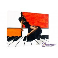 Картина на холсте по фото Модульные картины Печать портретов на холсте DeAngelo_005