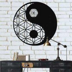 """Панно """"Инь-Янь"""" - Модульная картины, Репродукции, Декоративные панно, Декор стен"""