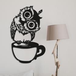 """Панно """"Умная сова"""" - Модульная картины, Репродукции, Декоративные панно, Декор стен"""
