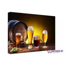 Картина на холсте по фото Модульные картины Печать портретов на холсте Мечта пивовара